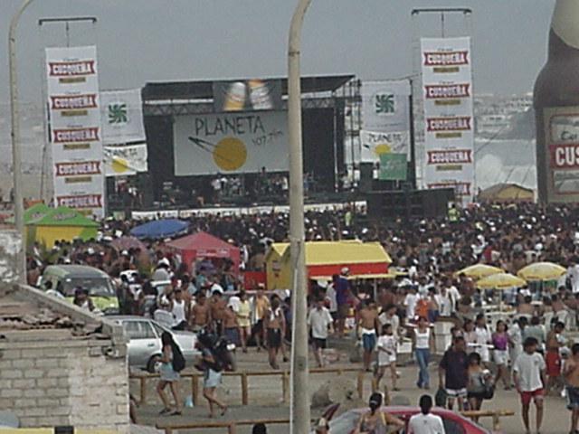 concert south of Lima. Peru
