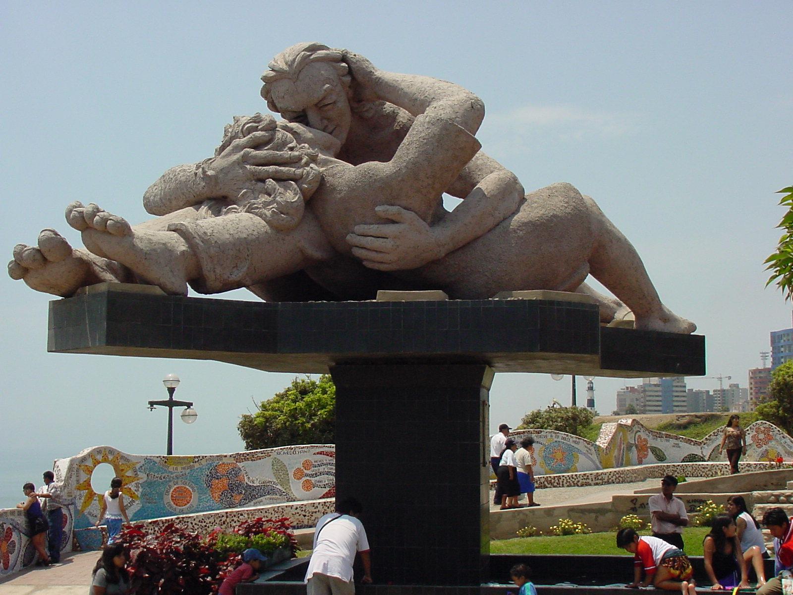 close-up Parque del Amor